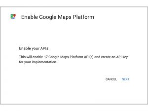 How to get a Google Maps API Key for your website